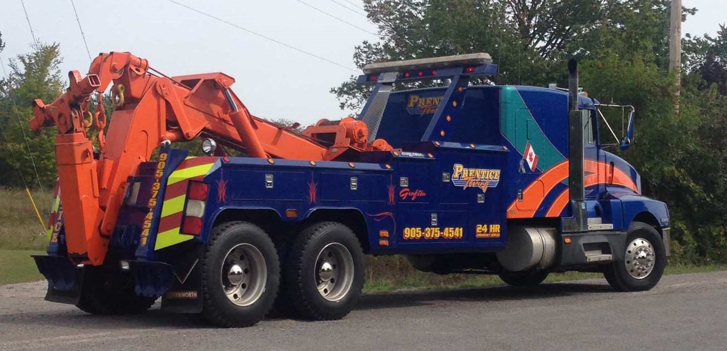prentice tow large truck